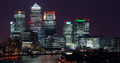 London's Canary Wharf