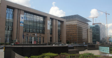 EU buildings, Brussels.