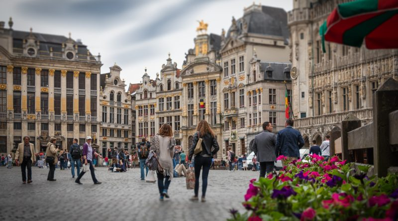 People in Brussels, citizens concerns.