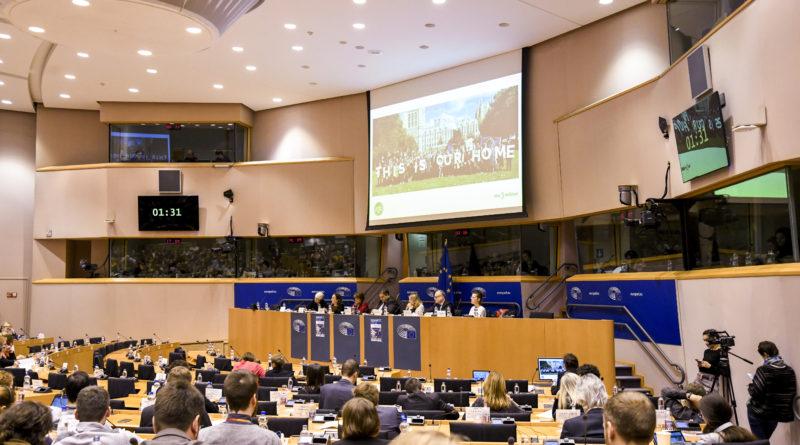 EU parliament hearing.