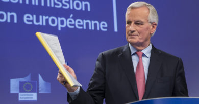 Barnier: draft Brexit withdrawal agreement