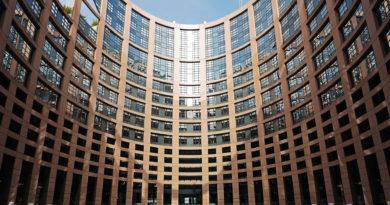 European parliament in Strasbourg.