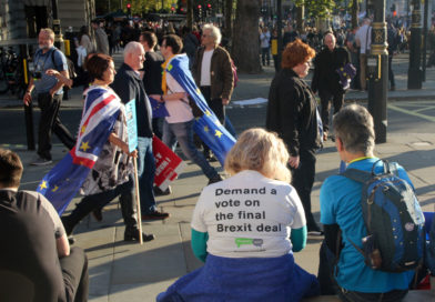 IN PICTURES: People march in London to demand Brexit vote