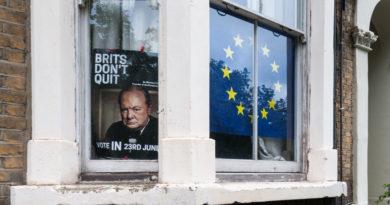 London, Brexit referendum 2016.