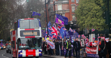 Brexit protests, London