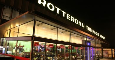 Rotterdam - The Hague aiport, Netherlands