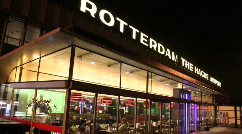 Rotterdam - The Hague aiport, Netherlands
