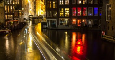 Dutch city Amsterdam