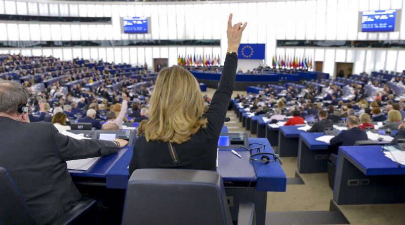 EU elections take place in May 2019.