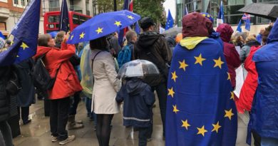 EU nationals protest in London