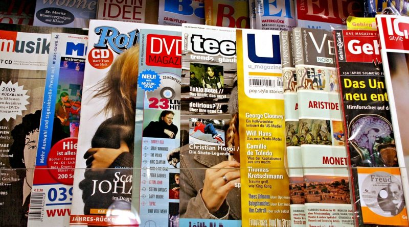 Magazines kiosk