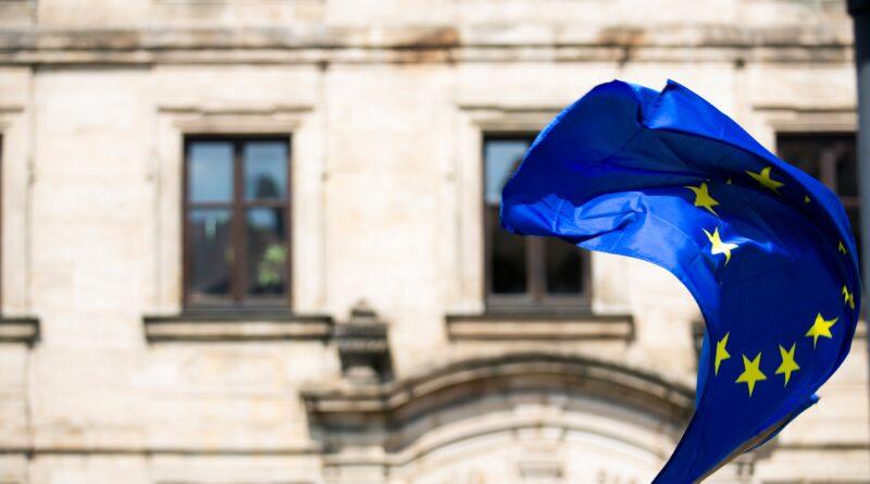 European flag and EU citizenship